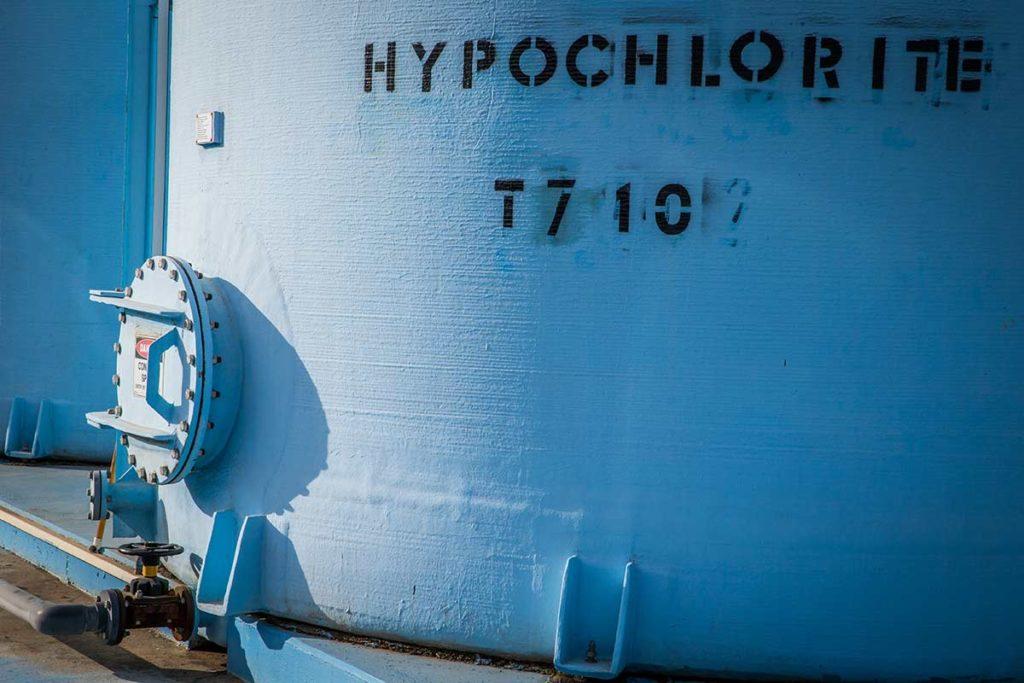 Hypochlorite Storage Tank