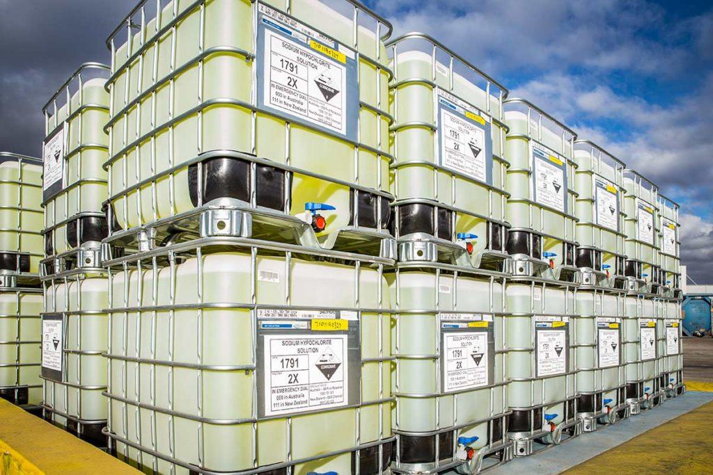 Sodium Hypochlorite Storage