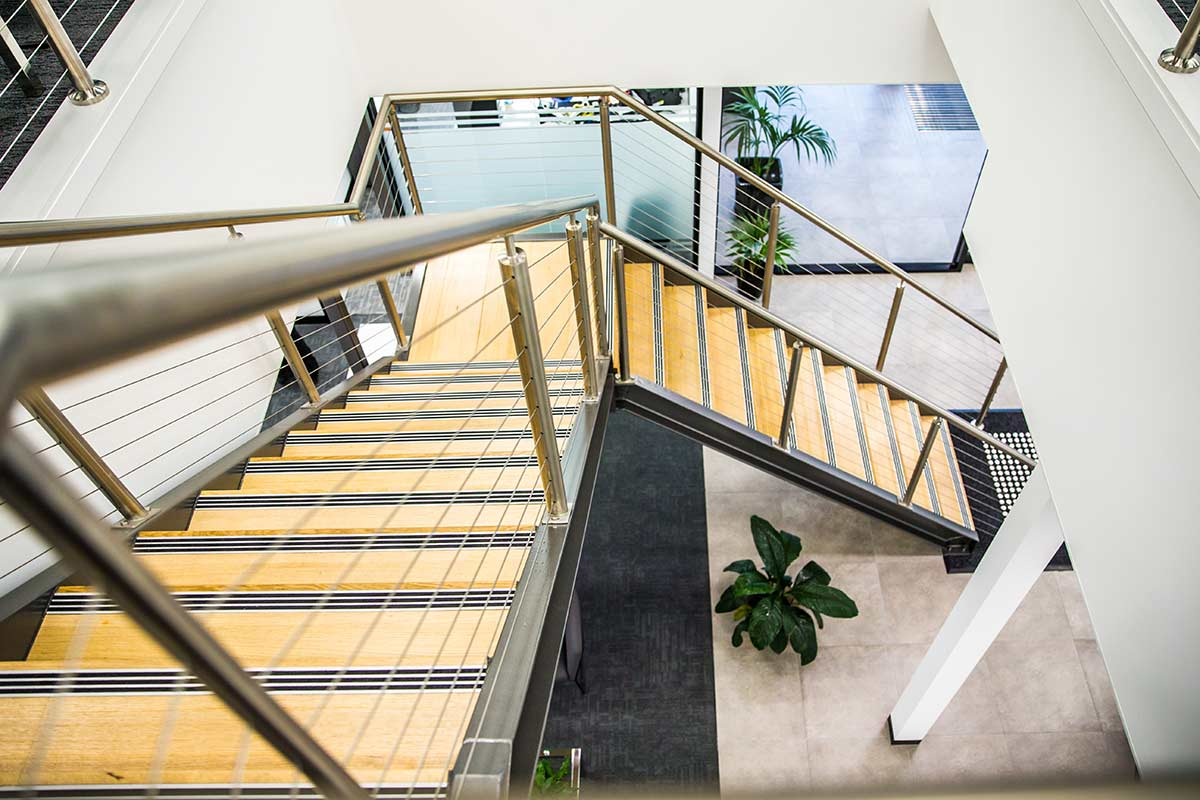 Head office staircase